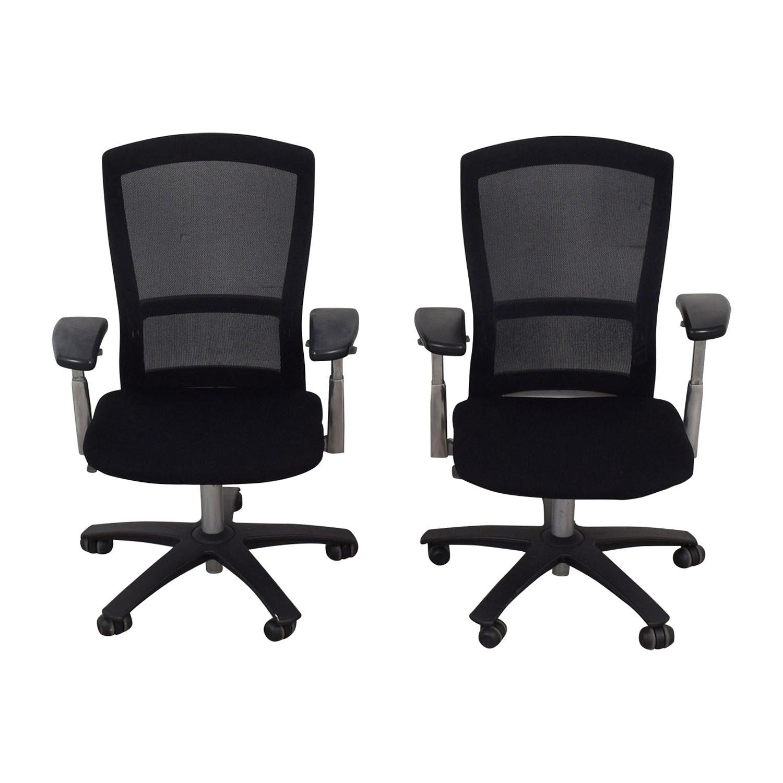 Knoll Knoll Life Black Desk Chairs