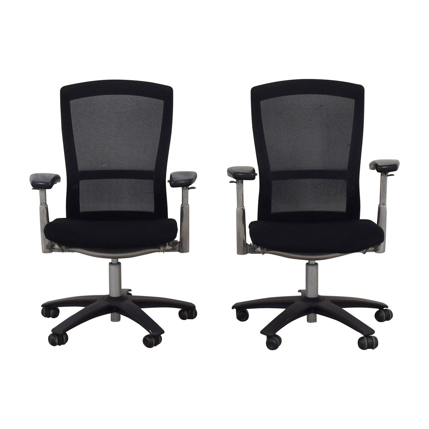 Knoll Life Black Desk Chairs / Home Office Desks