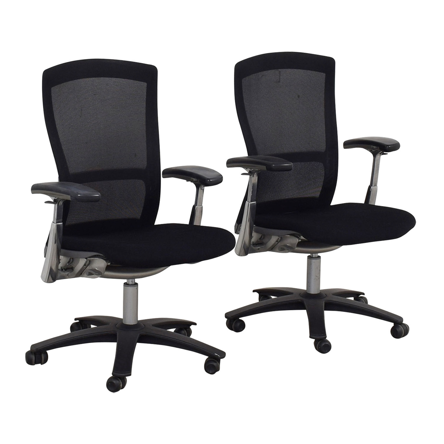shop Knoll Life Black Desk Chairs Knoll Tables