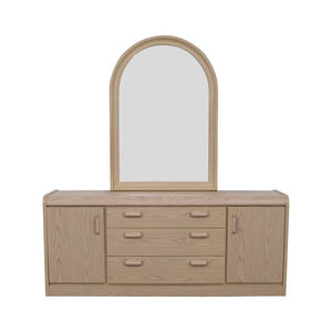 Palliser Palliser Three Drawer and Two Cabinet Dresser with Mirror on sale