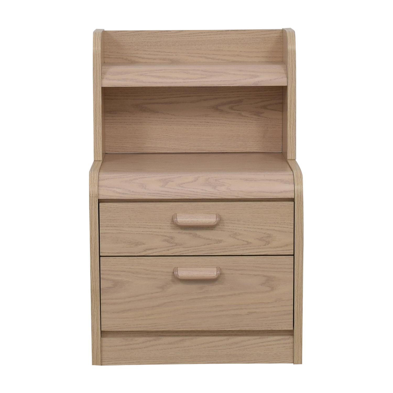 Palliser Palliser nightstand with hutch for sale