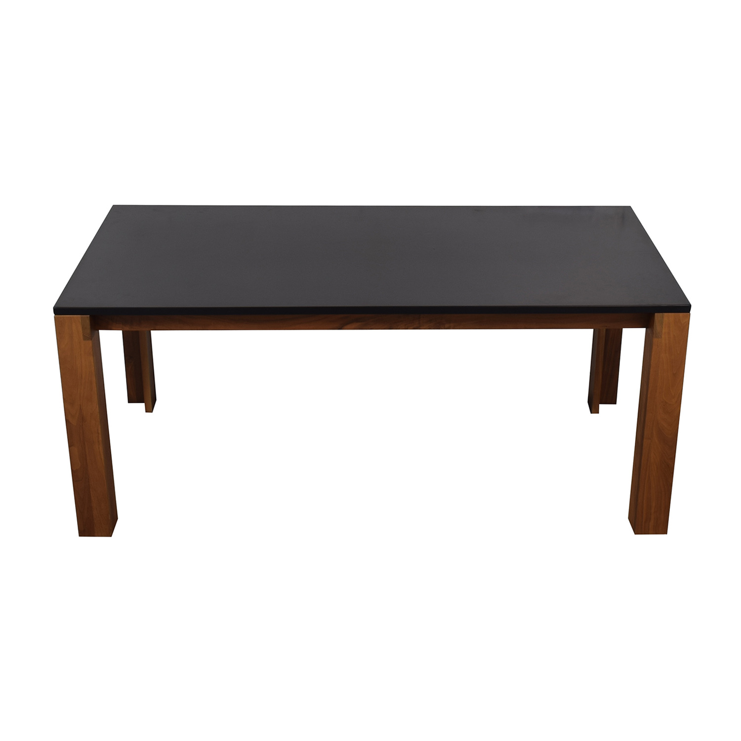buy Design Within Reach Black and Wood Dining Table Design Within Reach Tables