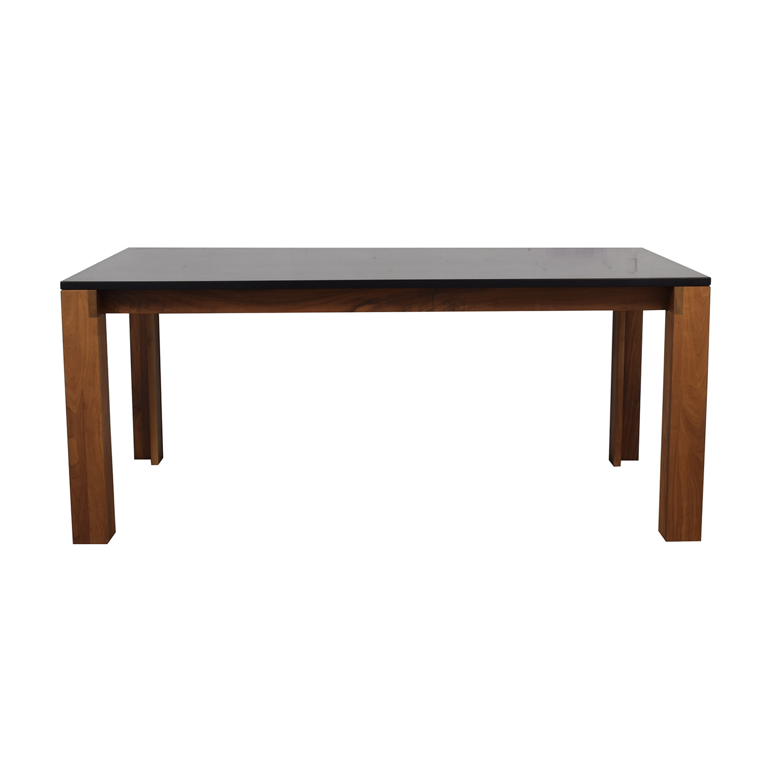 Design Within Reach Design Within Reach Black and Wood Dining Table discount