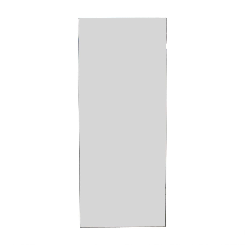CB2 CB2 Infinity Floor Mirror dimensions
