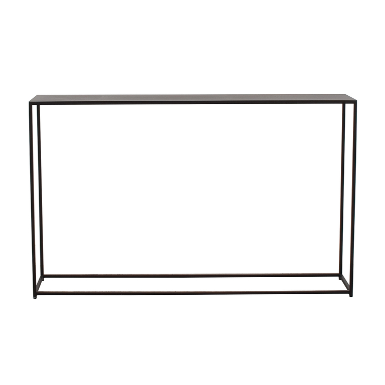 buy Black Console Table  Tables