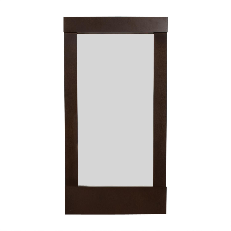 Crate & Barrel Crate & Barrel Parsons Floor Mirror coupon
