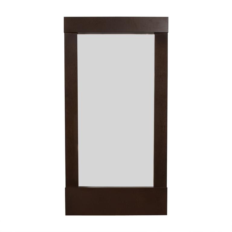 buy Crate & Barrel Crate & Barrel Parsons Floor Mirror online