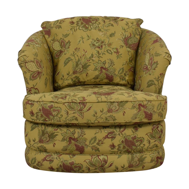 La-Z-Boy La-Z-Boy Fresco Premier Swivel Floral Accent Chair