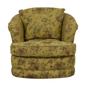 La-Z-Boy La-Z-Boy Fresco Premier Swivel Floral Accent Chair on sale