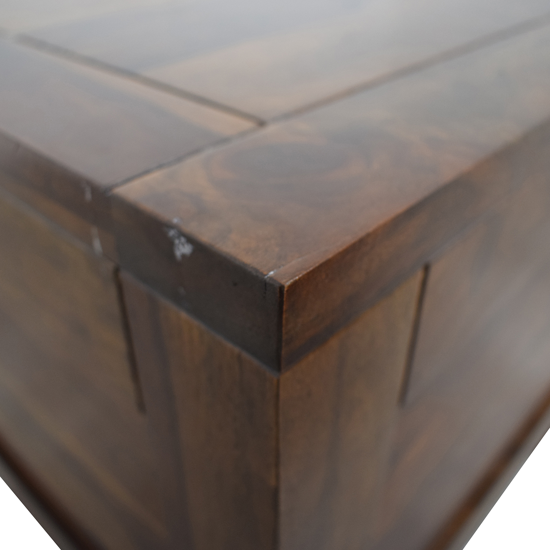 Crate & Barrel Crate & Barrel Tucker Side Trunk Table second hand