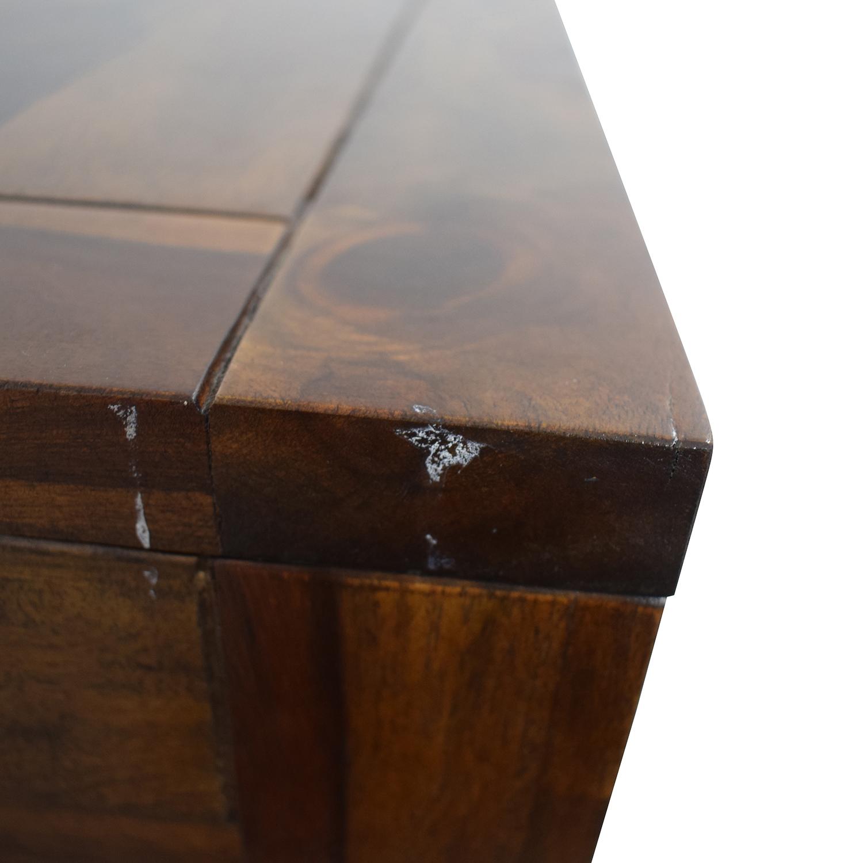 Crate & Barrel Crate & Barrel Tucker Side Trunk Table nyc