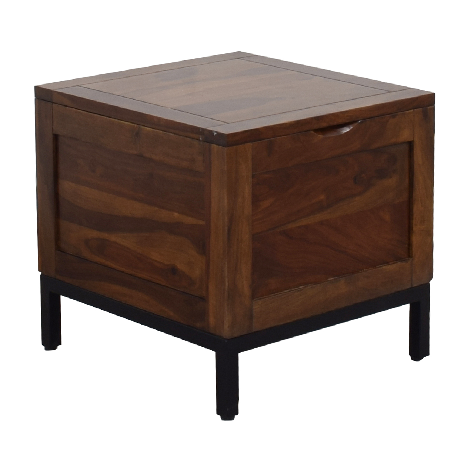 Crate & Barrel Crate & Barrel Tucker Side Trunk Table used
