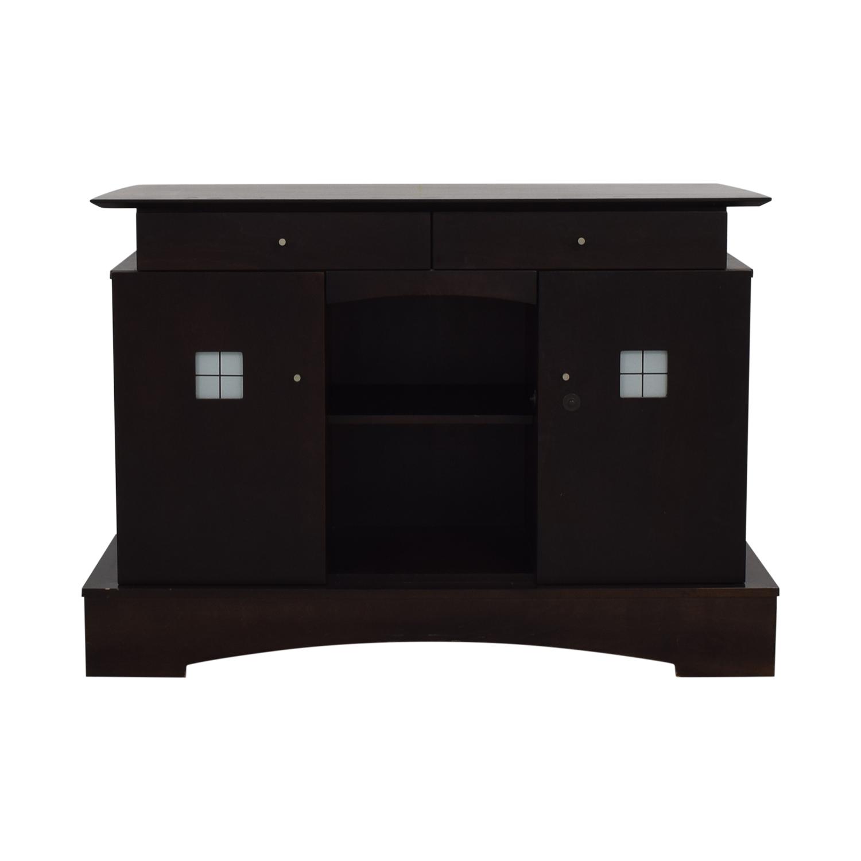 Jensen-Lewis Furniture Jensen-Lewis Furniture Wood Buffet used