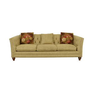 Country Willow Country Willow Tan Three-Cushion Sofa discount
