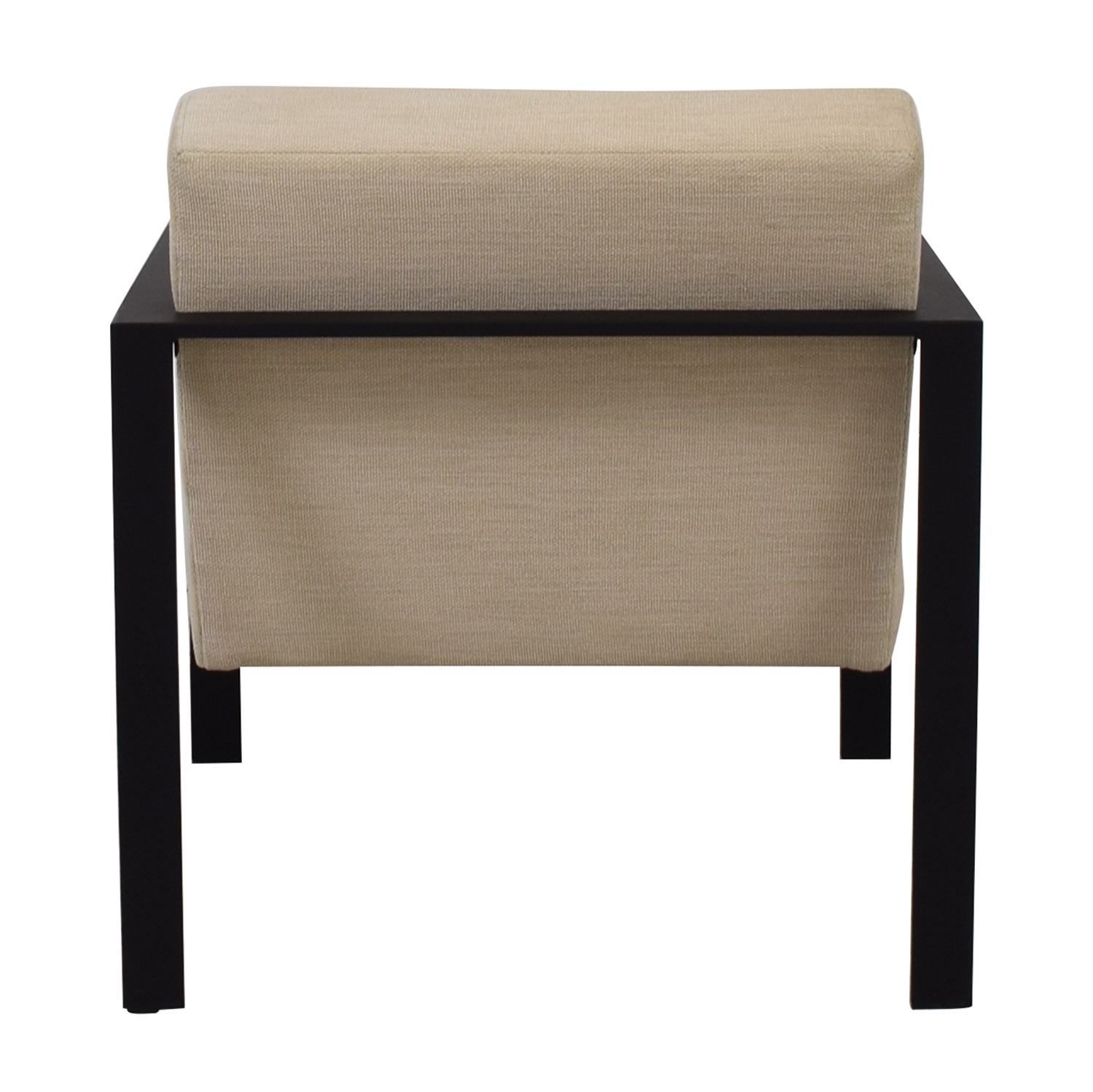 70 Off Cb2 Cb2 Dempsey Beige Upholstered Accent Chair Chairs