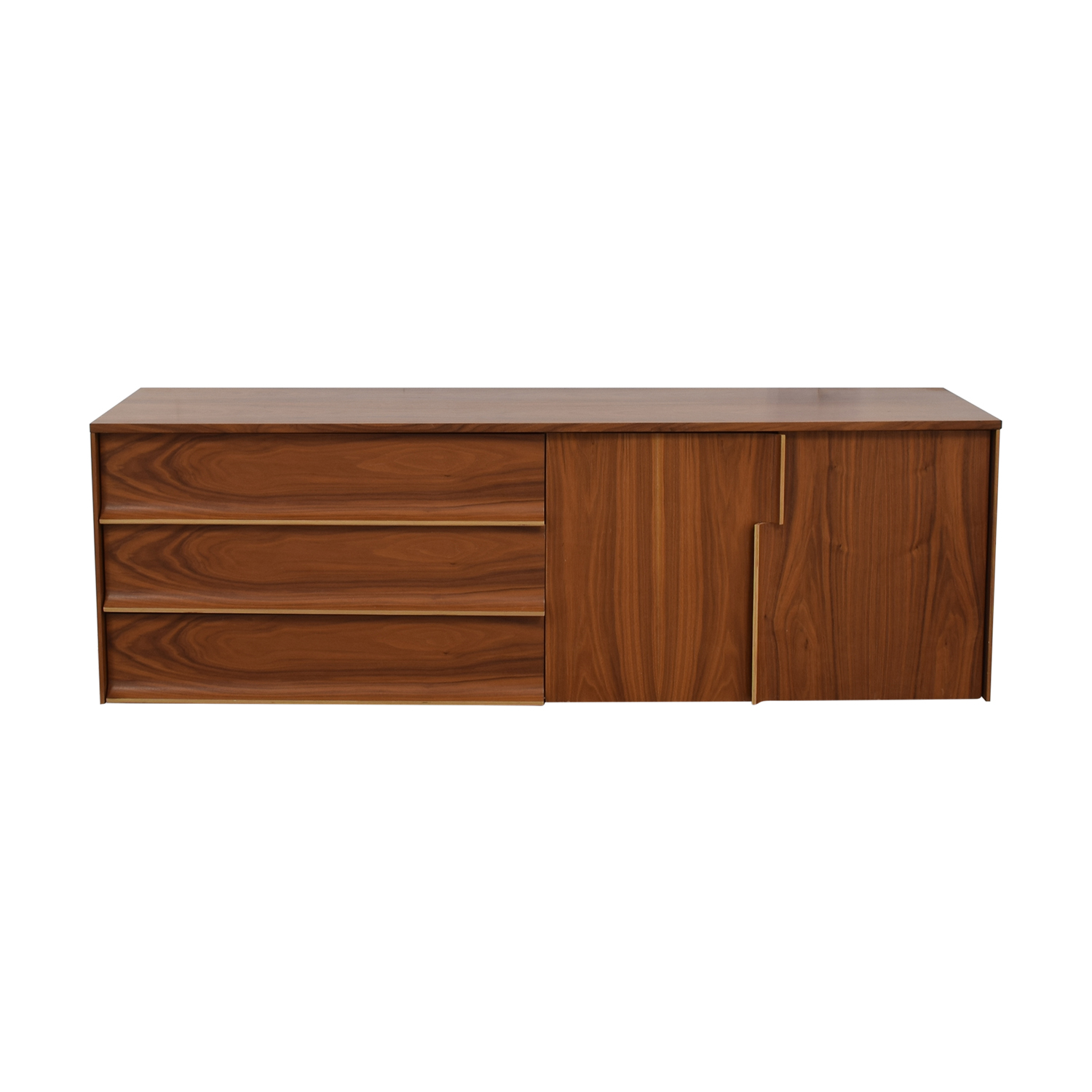 Three-Drawer Media Console discount