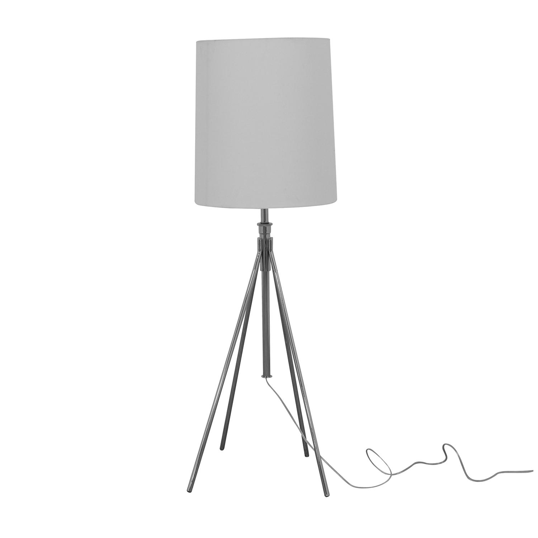 shop West Elm Tripod Floor Lamp West Elm Lamps
