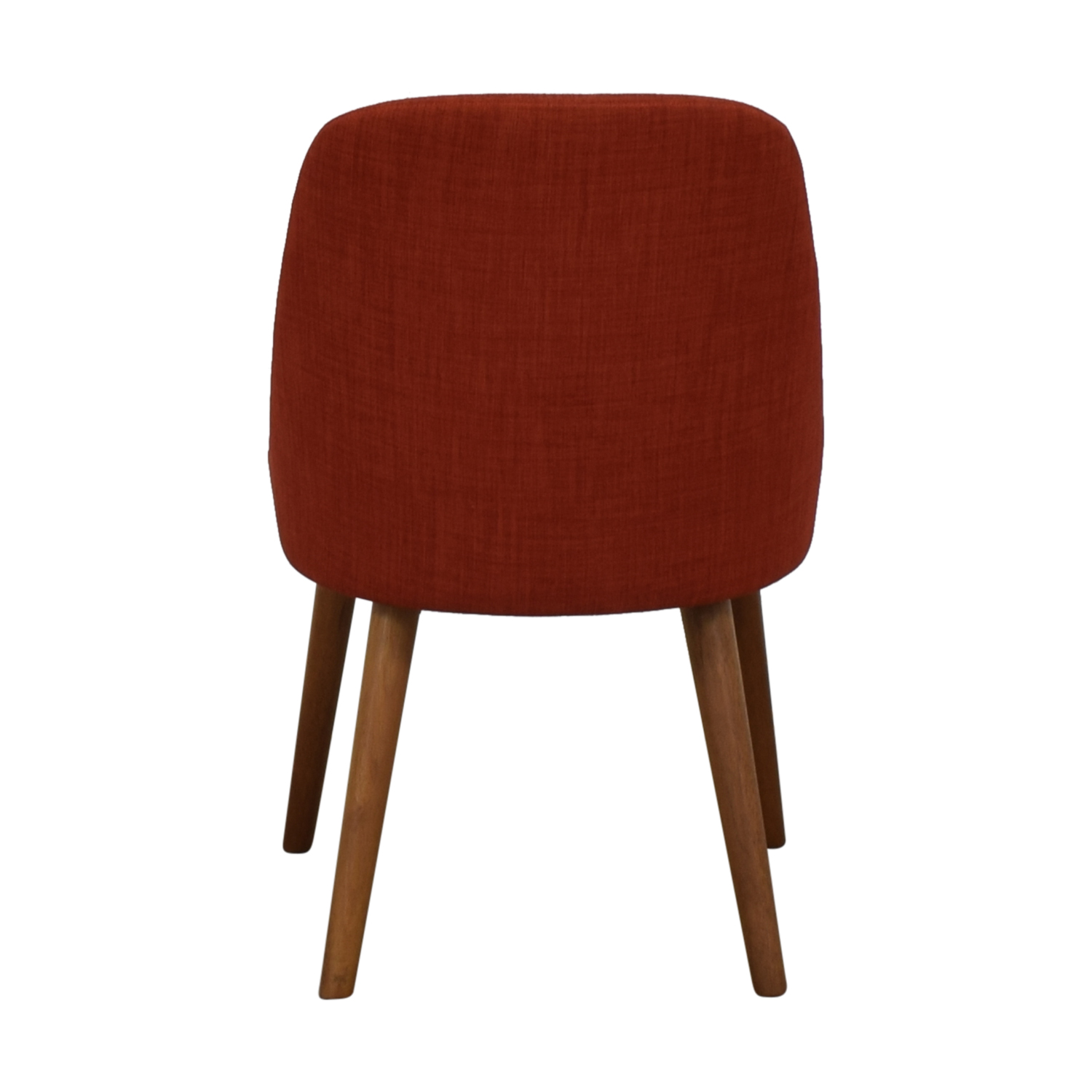shop West Elm West Elm Mid-Century Heathered Weave Cayenne Dining Chair online