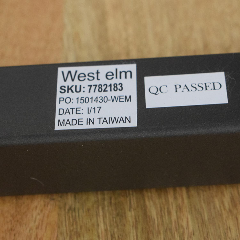 West Elm West Elm Raw Mango Box Frame Dining Bench nj