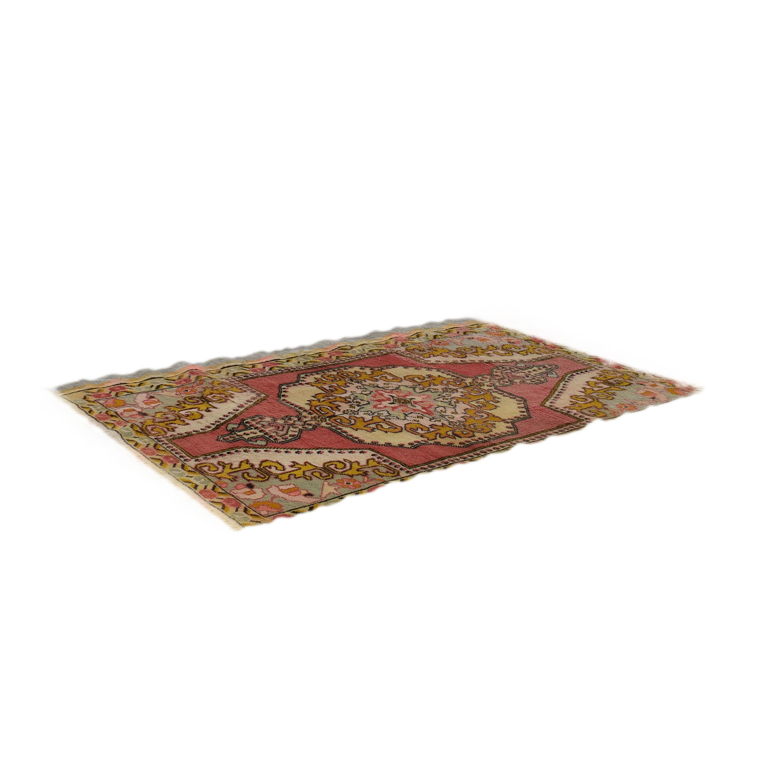 shop Vintage Turkish Anatolian Multi-Colored Rug