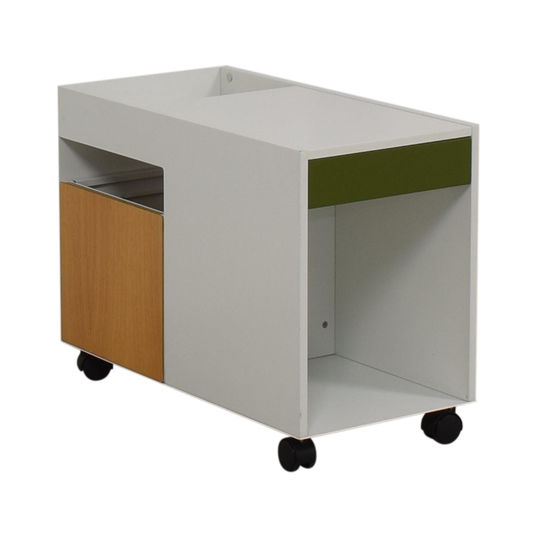 Herman Miller Herman Miller Enchord White Mobile Cabinet