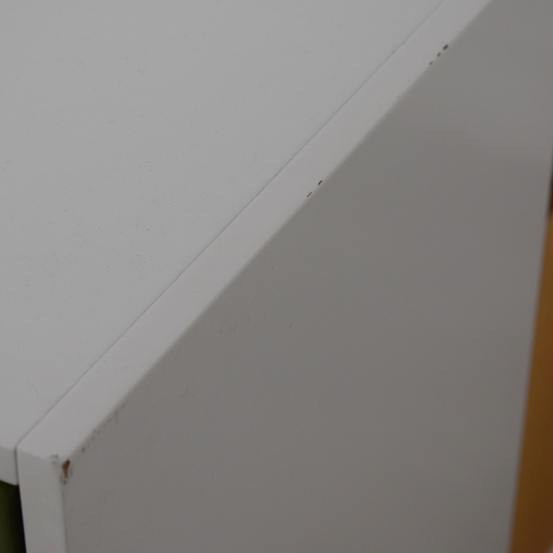 Herman Miller Herman Miller Enchord White Mobile Cabinet for sale