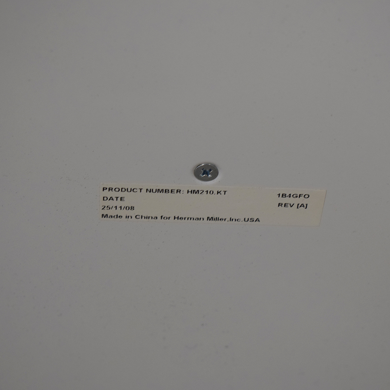 buy Herman Miller Enchord White Mobile Cabinet Herman Miller