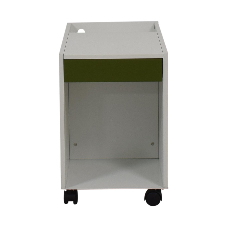 shop Herman Miller Herman Miller Enchord White Mobile Cabinet online