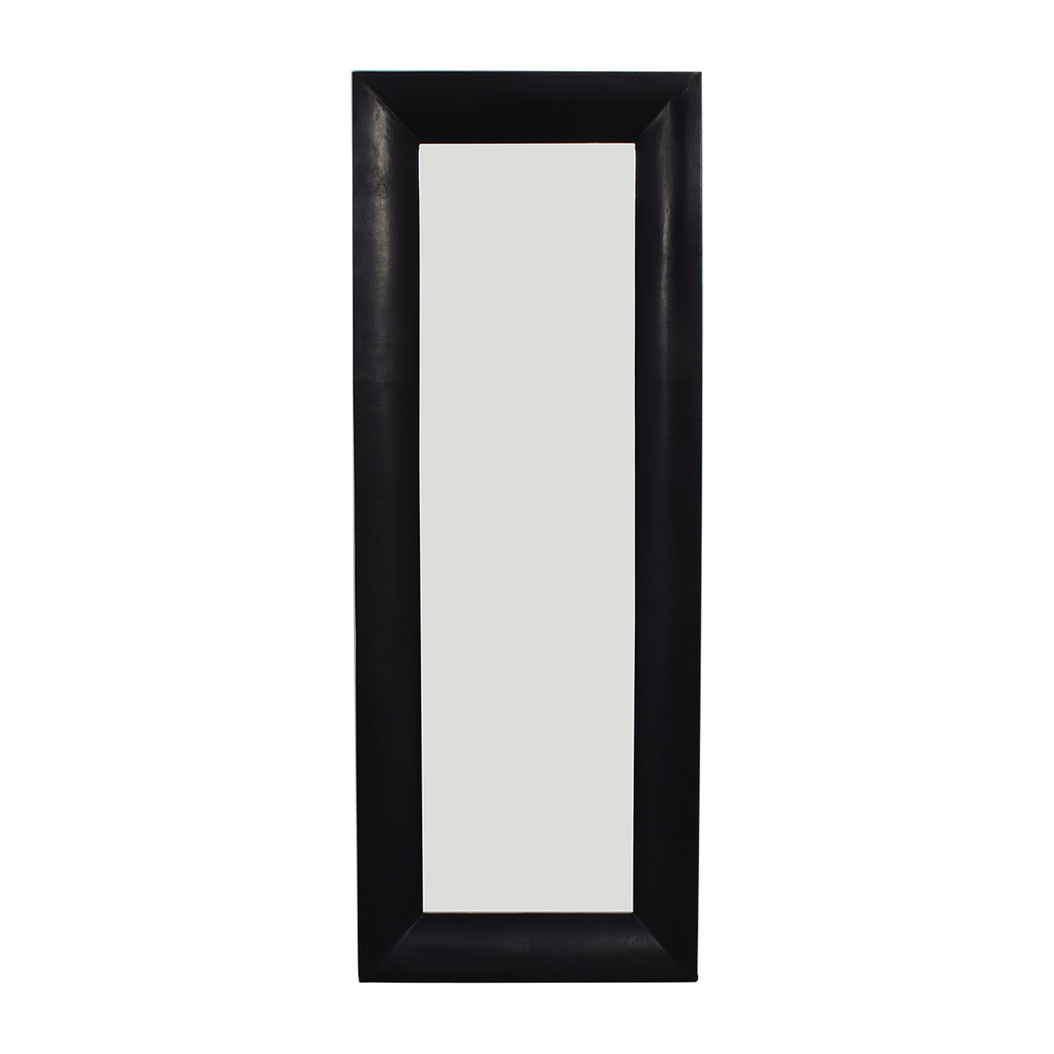 Crate & Barrel Crate & Barrel Maxx Black Floor Mirror on sale