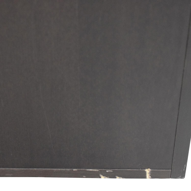 shop Design Within Reach Graphite Five-Drawer Dresser Design Within Reach Storage