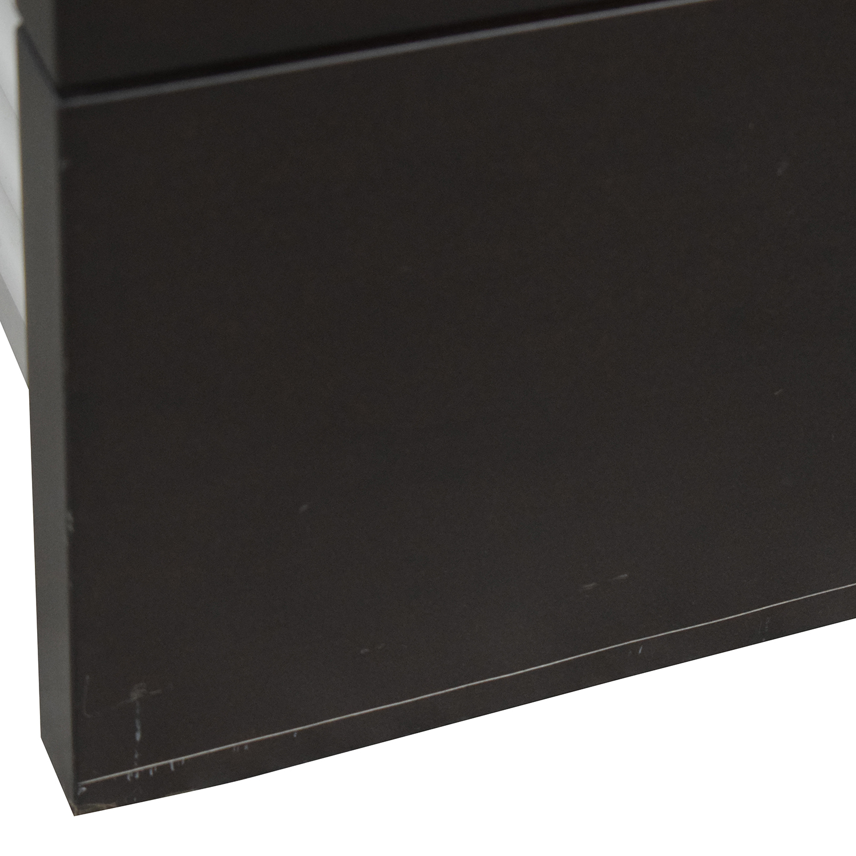 Design Within Reach Graphite Five-Drawer Dresser Design Within Reach