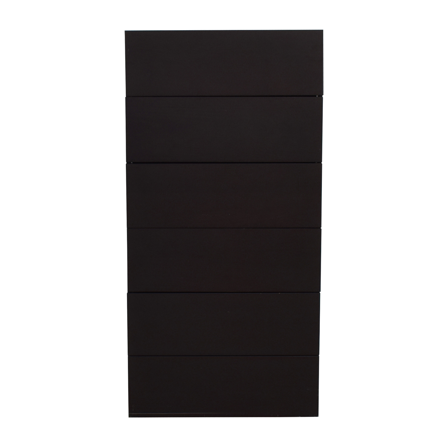 shop Design Within Reach Graphite Five-Drawer Dresser Design Within Reach Storage