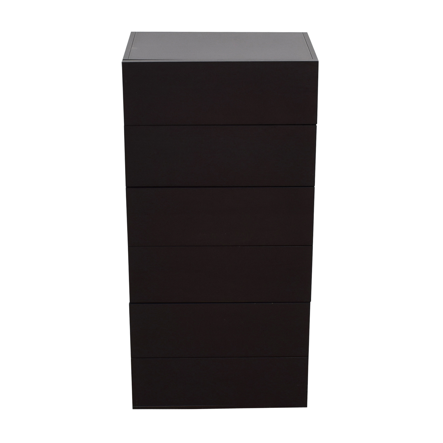 shop Design Within Reach Graphite Five-Drawer Dresser Design Within Reach