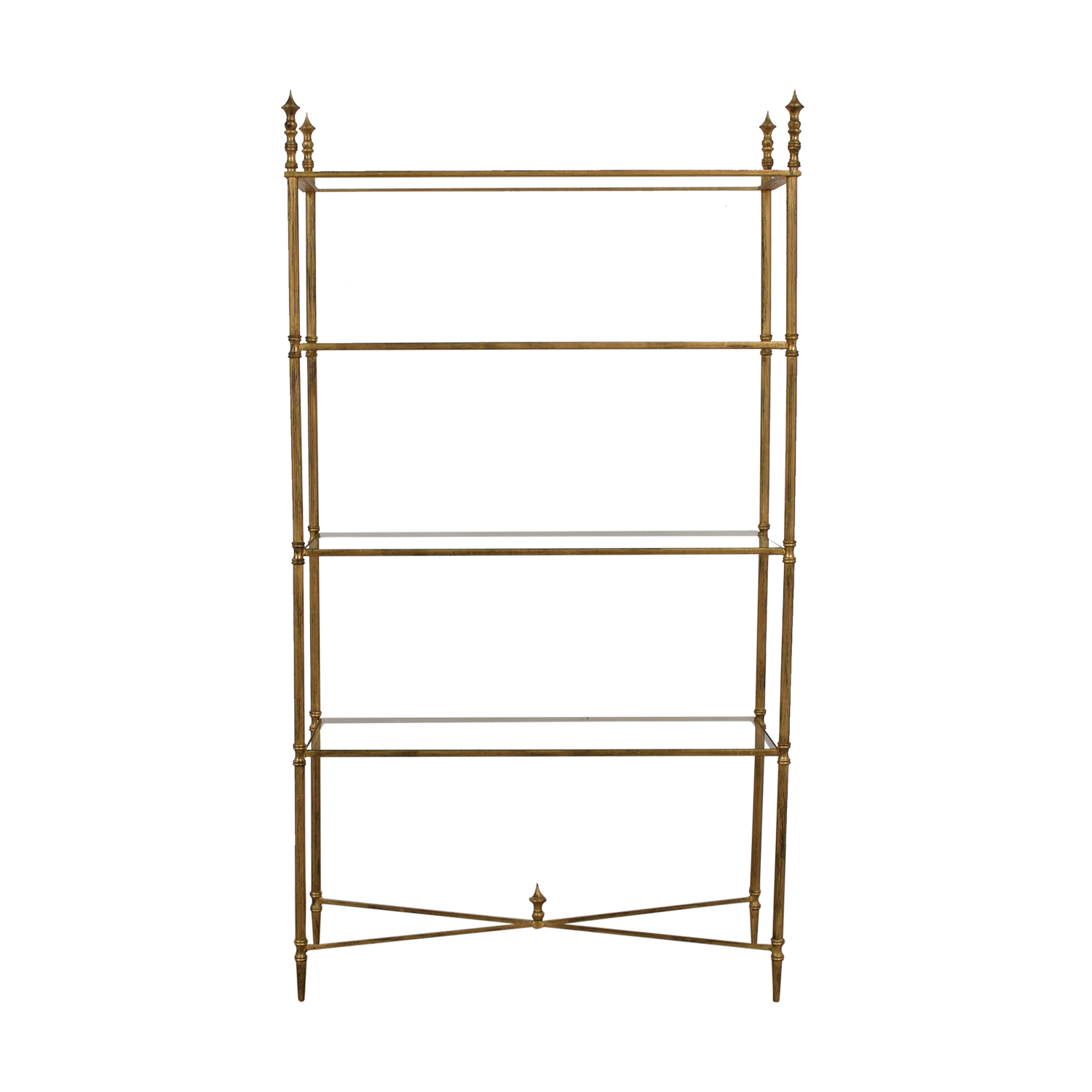 Uttermost Uttermost Gold Henzler Etagere coupon