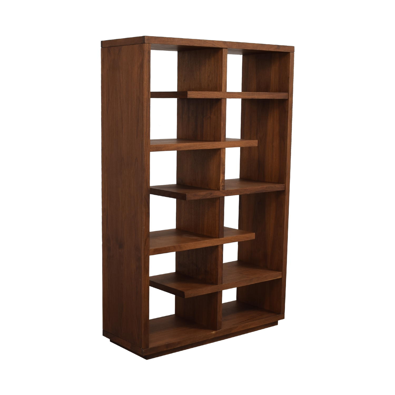 shop Crate & Barrel Crate & Barrel Elevate Walnut Bookcase online
