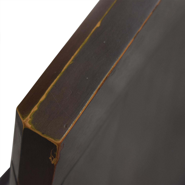 buy Casana Casana Black and Wood Queen Bed Frame online