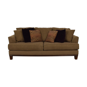 Ashley Furniture Ashley Furniture Brown Two-Cushion Sofa
