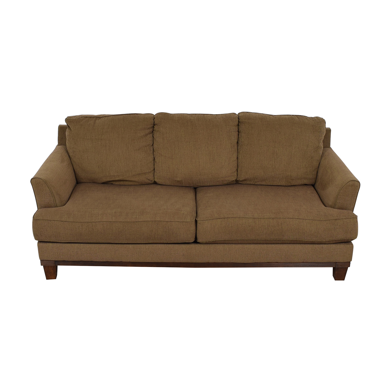 Ashley Furniture Ashley Furniture Brown Two-Cushion Sofa for sale