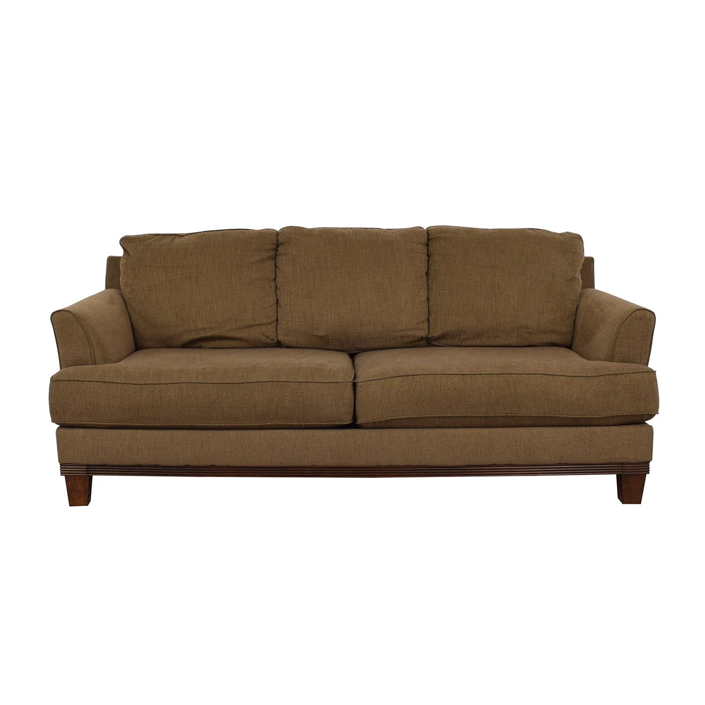 Ashley Furniture Ashley Furniture Brown Two-Cushion Sofa price