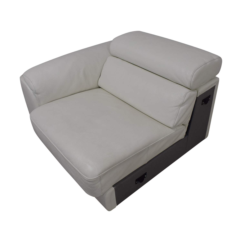 Lazzoni Lazzoni White Three-Cushion Sofa Sofas