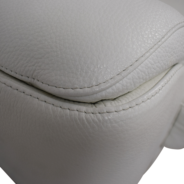 shop Lazzoni Lazzoni White Three-Cushion Sofa online