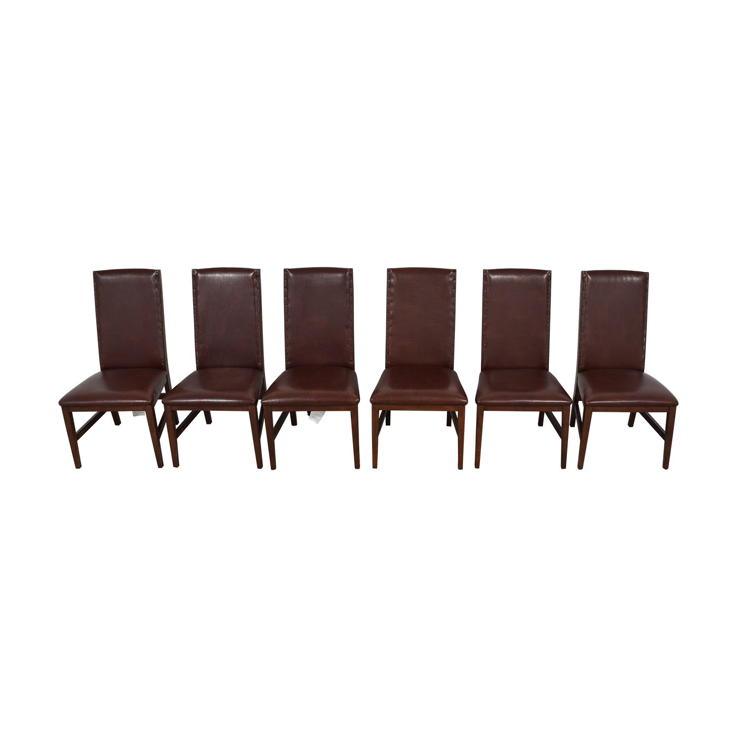 Nichols Stone Brown Dining Chairs