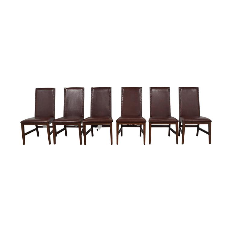 Nichols & Stone Nichols & Stone Brown Dining Chairs nyc