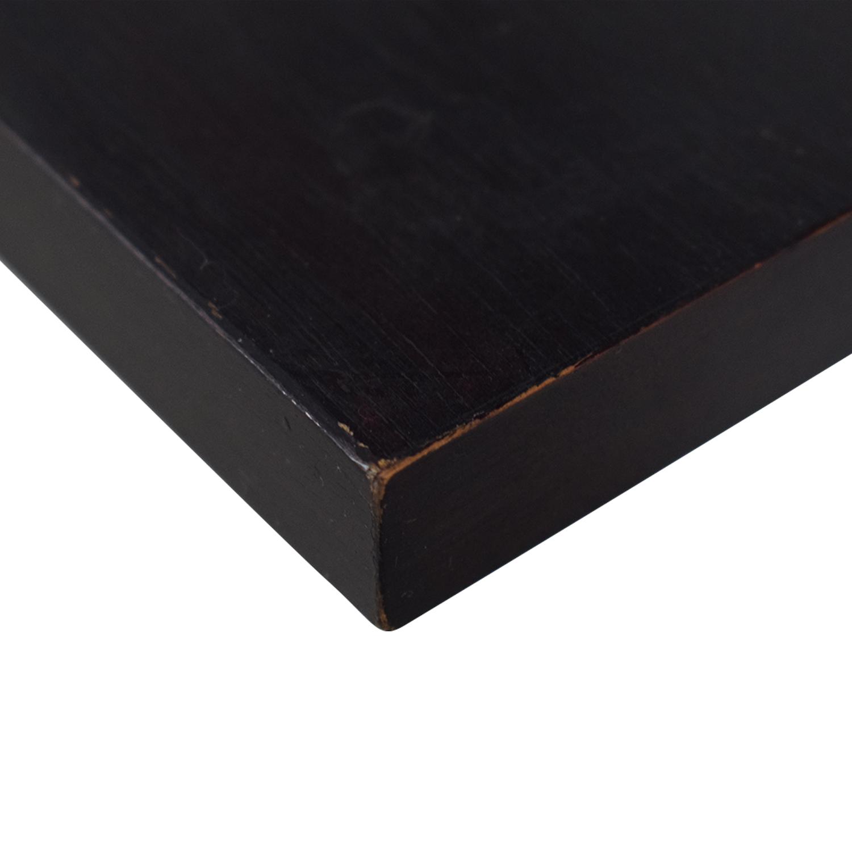 Crate & Barrel Crate & Barrel Brown Leaning Ladder Desk price