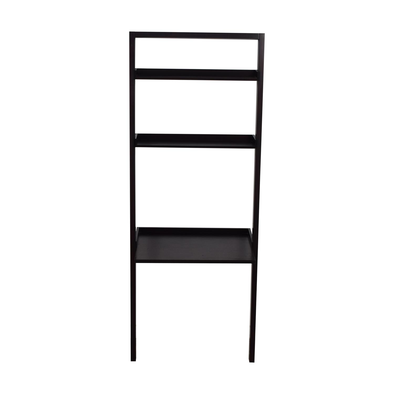 Crate & Barrel Crate & Barrel Brown Leaning Ladder Desk for sale