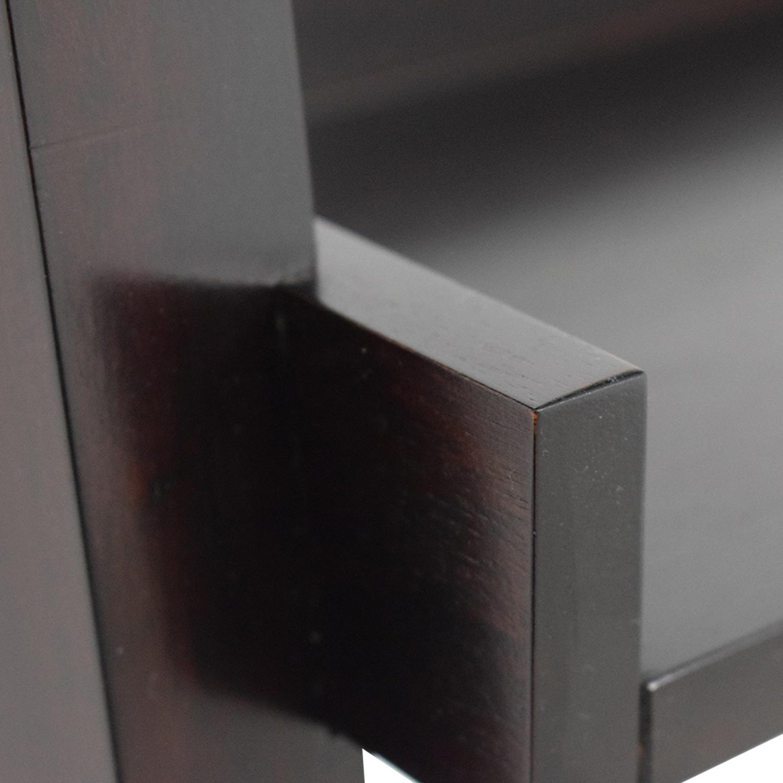 Crate & Barrel Crate & Barrel Brown Leaning Ladder Desk coupon