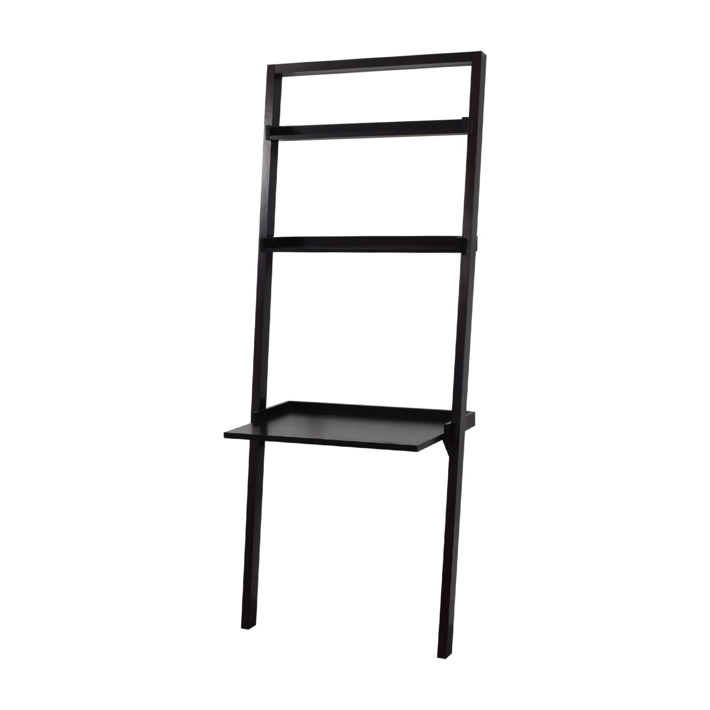 Crate & Barrel Crate & Barrel Brown Leaning Ladder Desk nyc
