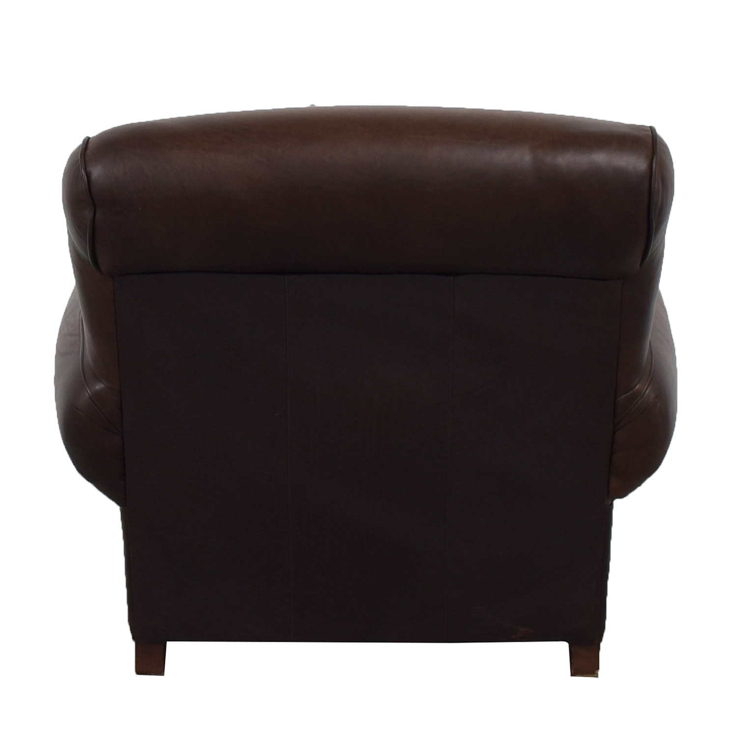 Mitchell Gold + Bob Williams Mitchell Gold + Bob Williams for Pottery Barn Brown Leather Chair price