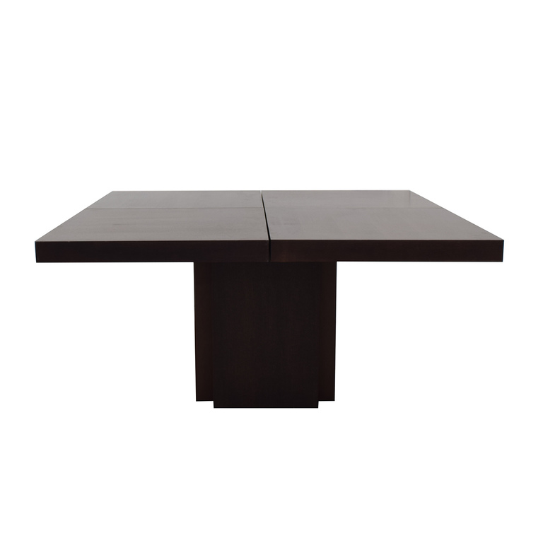 Square Wood Dining Table nyc
