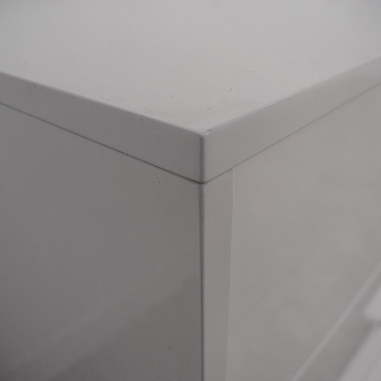 Modloft Modloft Jane Glossy White Four-Drawer Dresser used